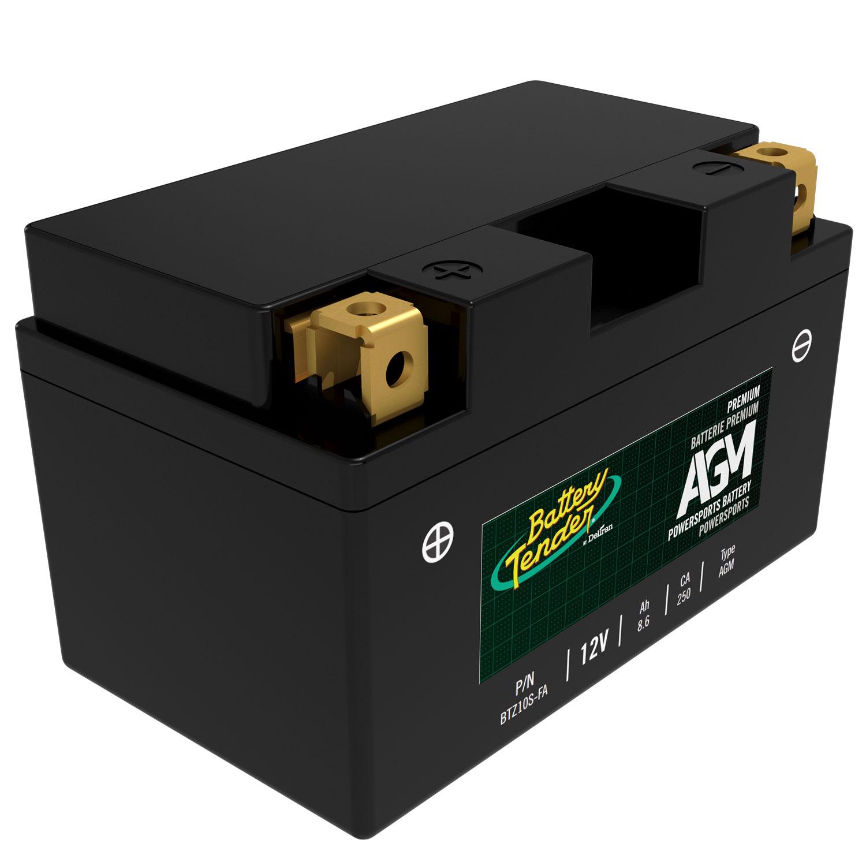 12v 8 6ah 250cca agm engine start battery