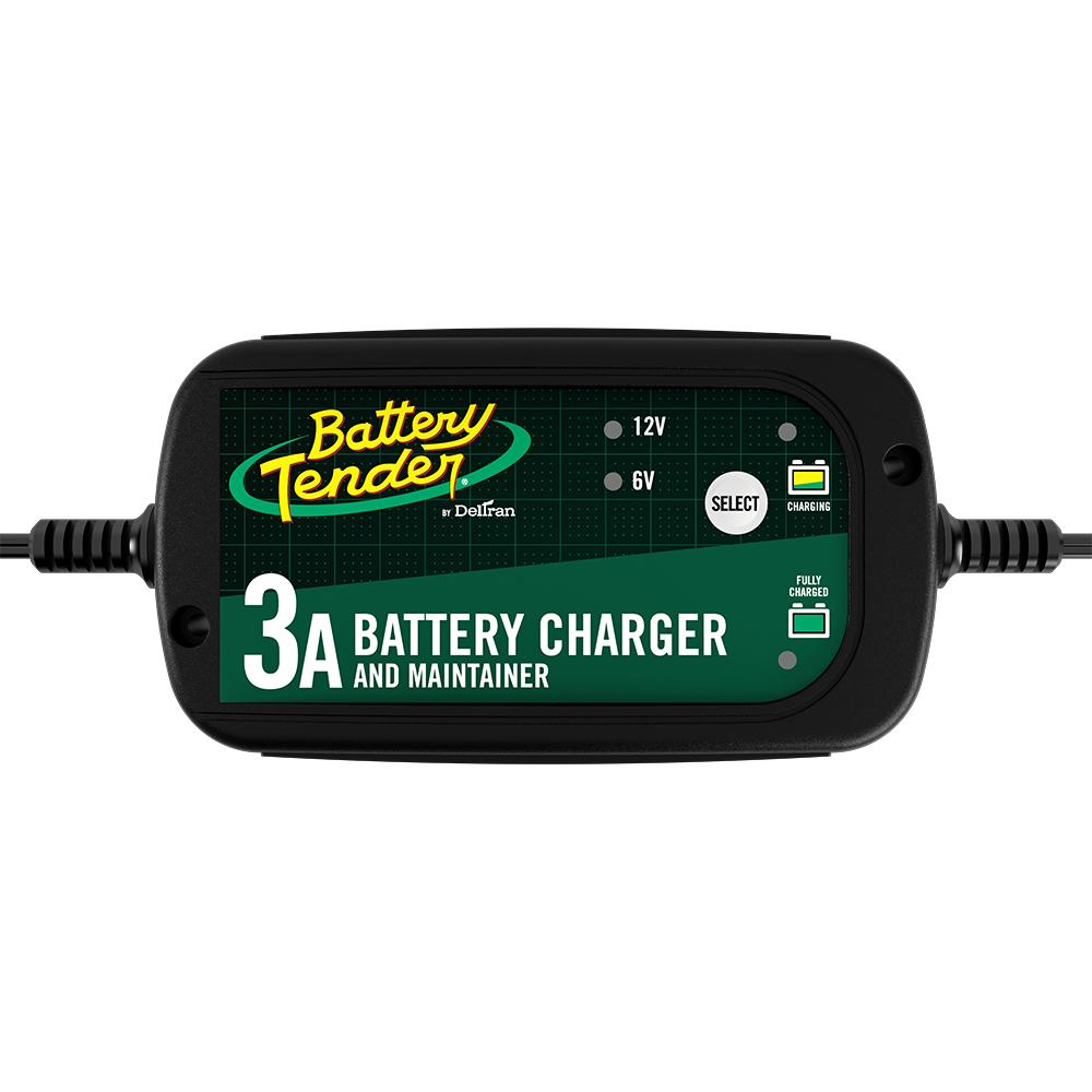Battery Tender® 6V/12V, 3A Selectable Battery Charger on